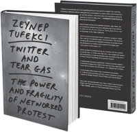 3D image of the Twitter and Tear Gas book